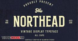 دانلود فونت انگلیسی کلاسیک  Northead – Vintage Serif Font