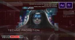 دانلود پروژه آماده پریمیر : اسلایدشو تبلیغاتی تکنولوژی Scientific Slides Techno Promotion