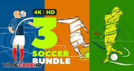 دانلود پروژه آماده افتر افکت : وله انیمیشن فوتبال Soccer Intro Opener