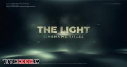 دانلود پروژه آماده افتر افکت : تریلر متنی The Light Cinematic Title