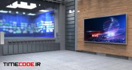 دانلود عکس استودیو مجازی Virtual Tv Studio News