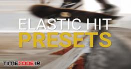 دانلود پریست پریمیر : ترنزیشن Elastic Hit Presets