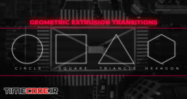 دانلود پریست پریمیر : ترنزیشن هندسی Geometric Extrusion Transitions