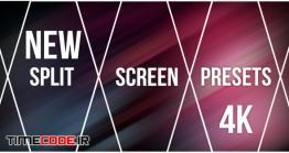 دانلود پریست پریمیر : تقسیم تصویر New Split Screen Presets